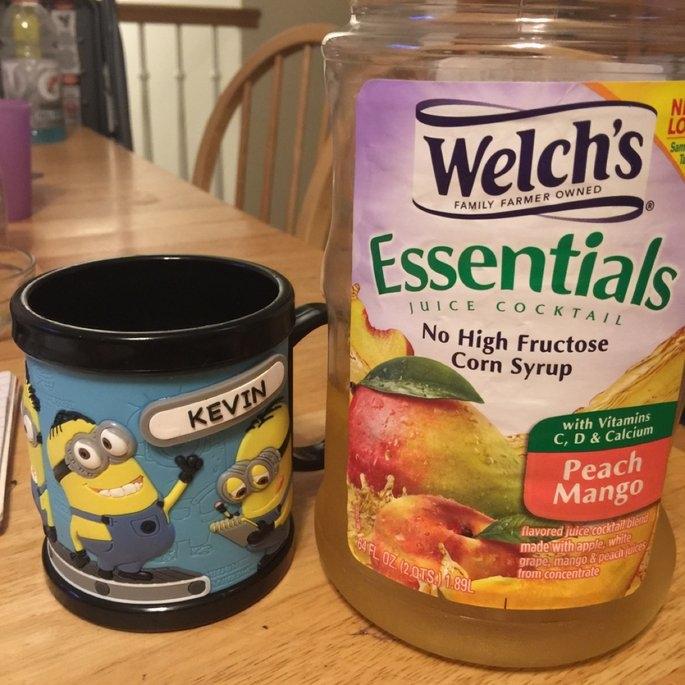 Welch's Essentials White Grape Peach Mango Juice uploaded by Norah T.
