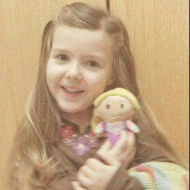 Hallmark Itty Bittys Disney Princess Rapunzel uploaded by Jennifer K.