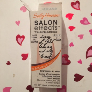 Photo of Sally Hansen Salon Effects - Love Letter uploaded by Vibha G.