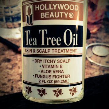 Photo of Hollywood Beauty Tea Tree Oil Skin and Scalp Treatment uploaded by Ronnie A.