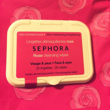 Photo of SEPHORA COLLECTION Cleansing & Exfoliating Wipes Rose 25 Wipes uploaded by Lorena Lizbeth R.