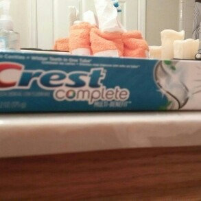 Photo of Crest Complete Extra Whitening Toothpaste with Tartar Protection uploaded by Adrienne A.