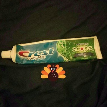 Photo of Crest Tartar Protection Toothpaste uploaded by Andie C.