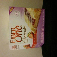 Fiber One Cheesecake Bar Strawberry uploaded by crystal c.