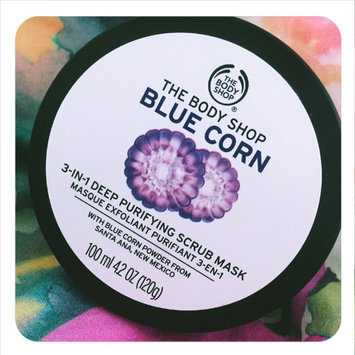 Photo of The Body Shop Blue Corn 3 in 1 Deep Cleansing Scrub Mask uploaded by Neha H.