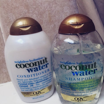 OGX® Coconut Water Shampoo uploaded by Aiyana B.