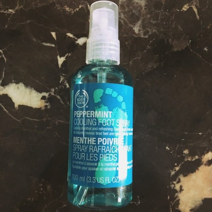 The Body Shop Peppermint Cooling Foot Spray uploaded by member-f6db3b6e2