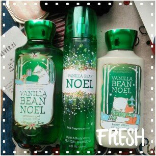 Photo of Bath & Body Works Vanilla Bean Noel Body Lotion uploaded by Jessica F.