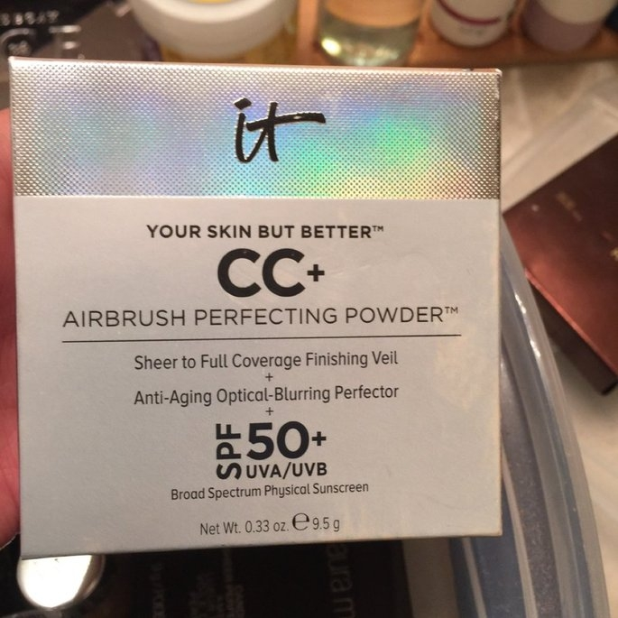 It Cosmetics Your Skin But Better CC+ Airbrush Perfecting Powder SPF50+ uploaded by Brie F.