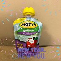Mott's Applesauce Pouches uploaded by Jennifer G.