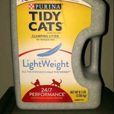 Purina Tidy Cats Tidy Cats LightWeight 24/7 Performance Scoop Litter Jug - 8.5lb uploaded by Melissa A.