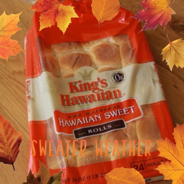 King's Hawaiian® Original Hawaiian Sweet Rolls 24 ct Bag