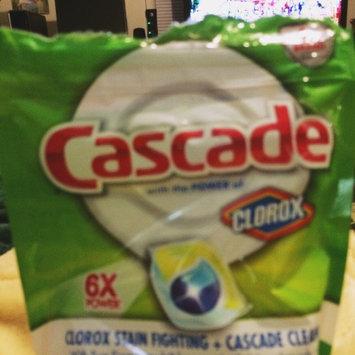 Photo of Cascade Lemon Scent w/Shine Shield Dishwasher Detergent uploaded by Susan G.