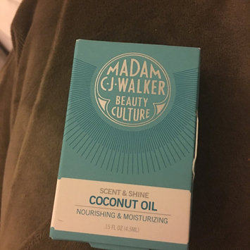 Photo of Madam C.J. Walker Beauty Culture Scent & Shine Coconut Oil 0.5 oz uploaded by Wendy H.