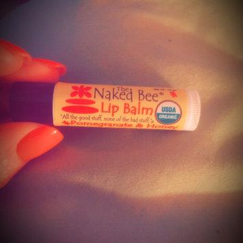 The Naked Bee Pomegranate & Honey Lip Balm uploaded by Tonya B.