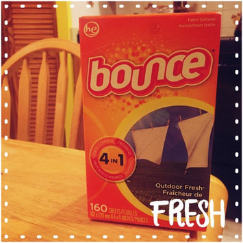 Photo of Bounce Outdoor Fresh 4in1 Fabric Softener Sheets - 40 CT uploaded by Rachel H.