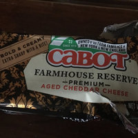 Cabot Farmhouse Reserve Aged Cheddar Cheese uploaded by Monise D.