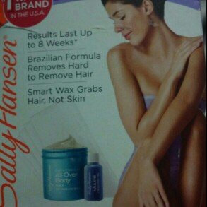 Photo of Sally Hansen® Extra Strength All Over Body Wax Hair Removal Kit uploaded by ximena a.