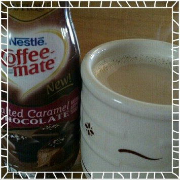 COFFEE-MATE Salted Caramel Chocolate Liquid Coffee Creamer 16 fl. oz. Bottle uploaded by Tonya H.