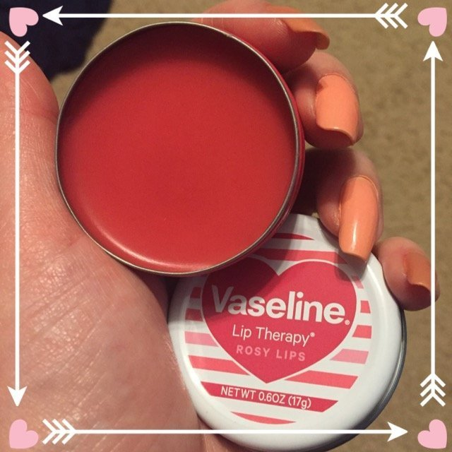 Vaseline Rosy Lip Therapy Valentines 0.6 oz uploaded by Stacy S.