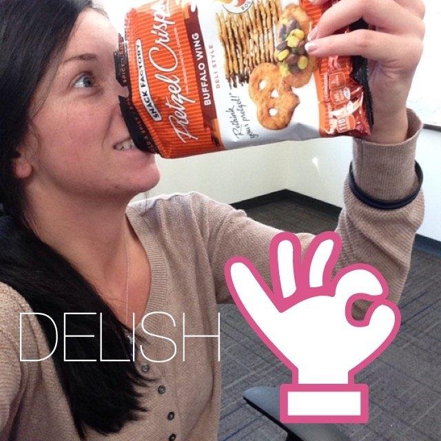 Pretzel Crisps® Buffalo Wing Deli Style Pretzel Crackers uploaded by Heather K.