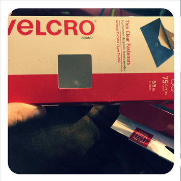 Photo of Velcro Clear Sticky Back Hook & Loop Fasteners uploaded by Amber P.