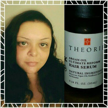 Photo of Theorie Argan Oil Repair Hair Serum uploaded by Donica A.