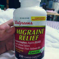 Walgreens Migraine Relief Coated Caplets, 250 ea uploaded by Dhanna F.