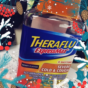 Theraflu® ExpressMax™ Daytime Berry Flavor Severe Cold & Cough Liquid 8.3 fl. oz. Bottle uploaded by Tracy L.