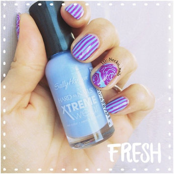 Photo of Sally Hansen Hard As Nails Xtreme Wear .4 oz Nail Color in Babe Blue uploaded by Mariana J.