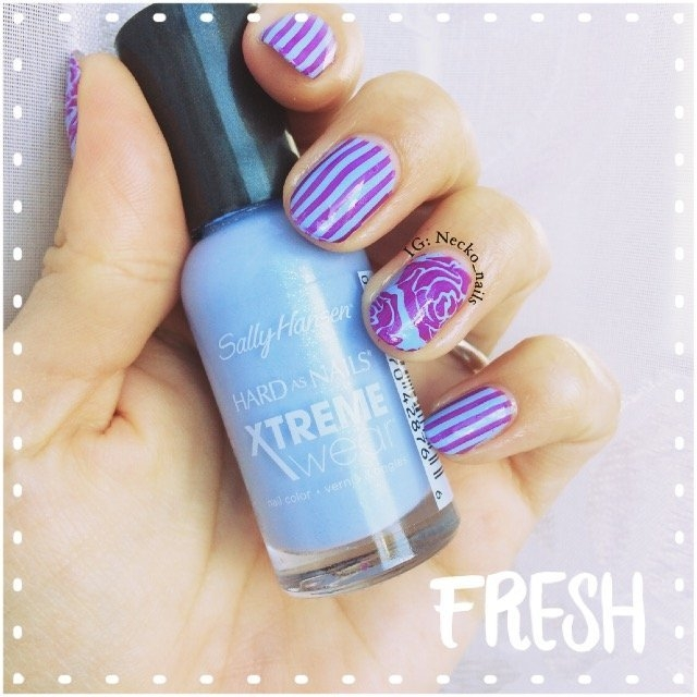 Sally Hansen Hard As Nails Xtreme Wear .4 oz Nail Color in Babe Blue uploaded by Mariana J.