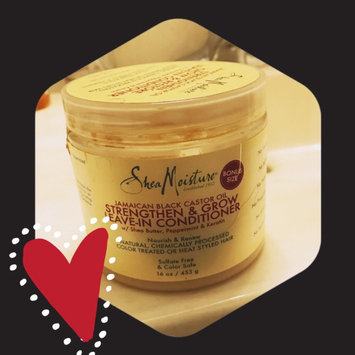 SheaMoisture Strengthen, Grow & Restore Leave-In Conditioner, Jamaican Black Castor Oil, 16 oz uploaded by Marsha B.