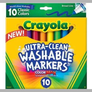 Photo of Crayola 10 Ct Ultraclean Broadline Classic uploaded by Stormie H.