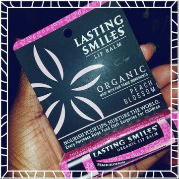 Photo of Lasting Smiles® Peach Blossom Organic Lip Balm-0.15 oz uploaded by OnDeane J.