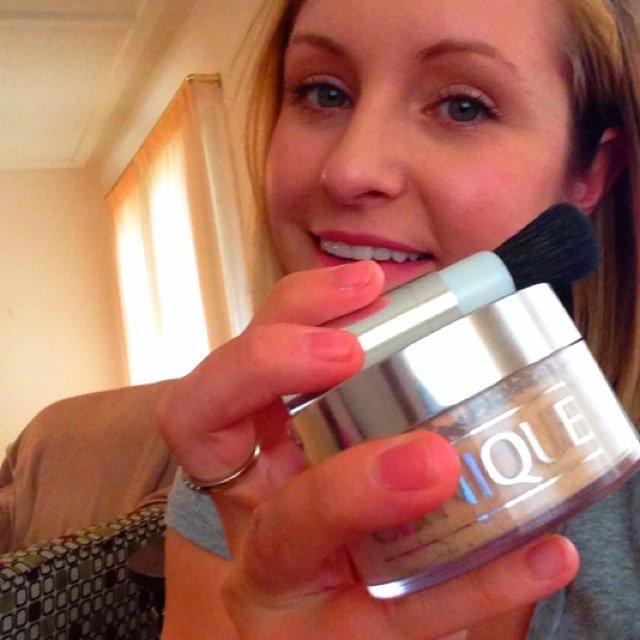 Clinique Blended Face Powder & Brush uploaded by Haley M.