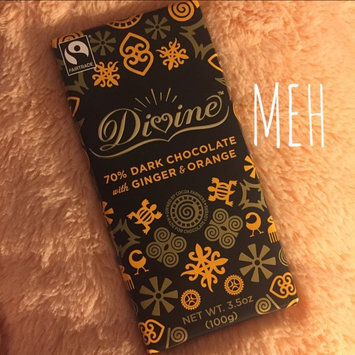 Divine Chocolate 70% Dark Chocolate with Ginger & Orange uploaded by Elise C.