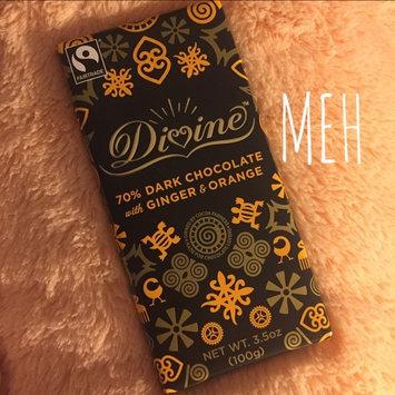 Photo of Divine Chocolate 70% Dark Chocolate with Ginger & Orange uploaded by Elise C.