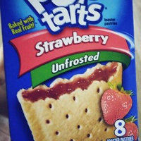 Kellogg's Pop-Tarts Unfrosted Strawberry Toaster Pastries uploaded by Victoria G.