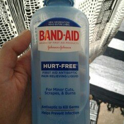 Band-Aid® Brand First Aid Hurt-Free™ Antiseptic Wash Wound Cleansing 6 Fl Oz Plastic Bottle uploaded by Jessica T.