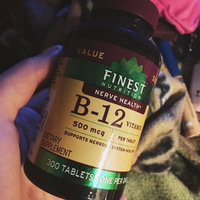 Finest Nutrition Vitamin B12 500mcg Tablets uploaded by Cristina T.