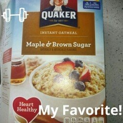 Quaker Instant Oatmeal Maple & Brown Sugar - 10 CT uploaded by Courtney M.