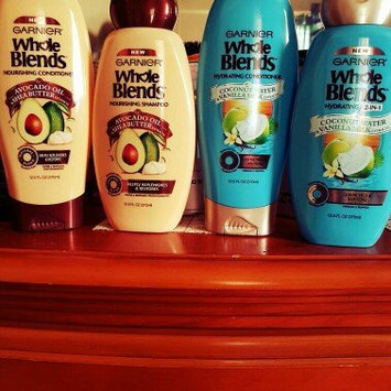 Garnier® Whole Blends™ Coconut Water & Vanilla Milk Extracts Hydrating Shampoo 12.5 fl. oz. Bottle uploaded by Mari B.
