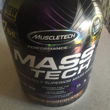 MuscleTech Mass-Tech Weight Gain uploaded by James C.