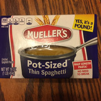 Mueller's Pot-Sized Thin Spaghetti Pasta, 16 oz uploaded by Crystal M.