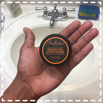 SheaMoisture African Black Soap Problem Skin Moisturizer uploaded by Trae C.