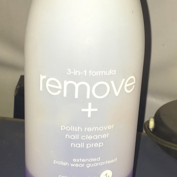 Photo of Zoya Remove Plus Nail Polish Remover uploaded by Julissa R.