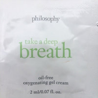 philosophy take a deep breath broad spectrum spf 30 sunscreen oil-free oxygen moisturizer uploaded by Ana S.