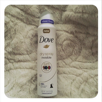 Dove® Invisible Antiperspirant Dry Spray Sheer Fresh uploaded by Ashley C.
