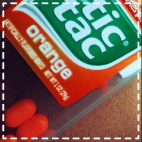 Tic Tac Mints Orange uploaded by Sanya P.