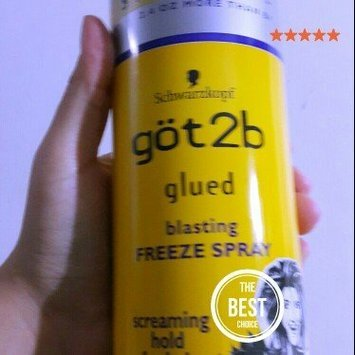 Schwarzkopf göt2b Glued 4 Blasting Hold Freeze Spray uploaded by Kammy T.